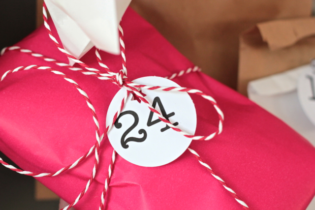 DIY advent calendar 24