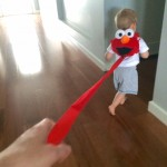 Shocking reaction to toddler on leash