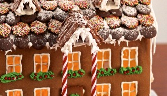 Building the best Gingerbread house in the history of Gingerbread houses