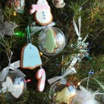 Gingerbread cookie Christmas decorations