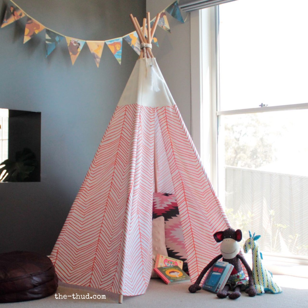 Design Teepee For Kids diy kids teepee the thud instructions sew and no variations super easy cheap to