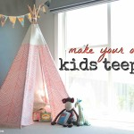 DIY Kids Teepee
