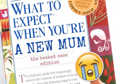 What to expect when you're a new mum – basket case edition