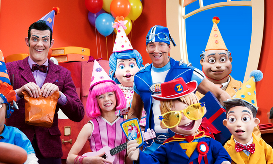 Kids TV terrifies me. Lazy Town is a horror show of epic proportions