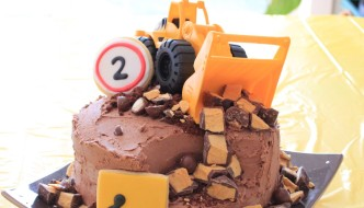 Thud turns two and there's lots of TRUCKS