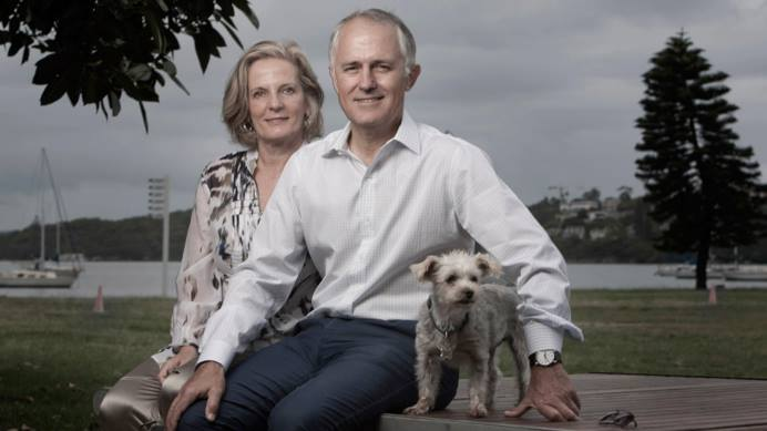 Malcom and Lucy Turnbull