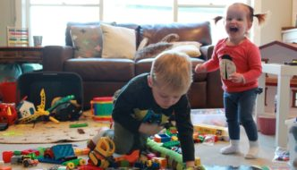 24 hours with a toddler and a preschooler