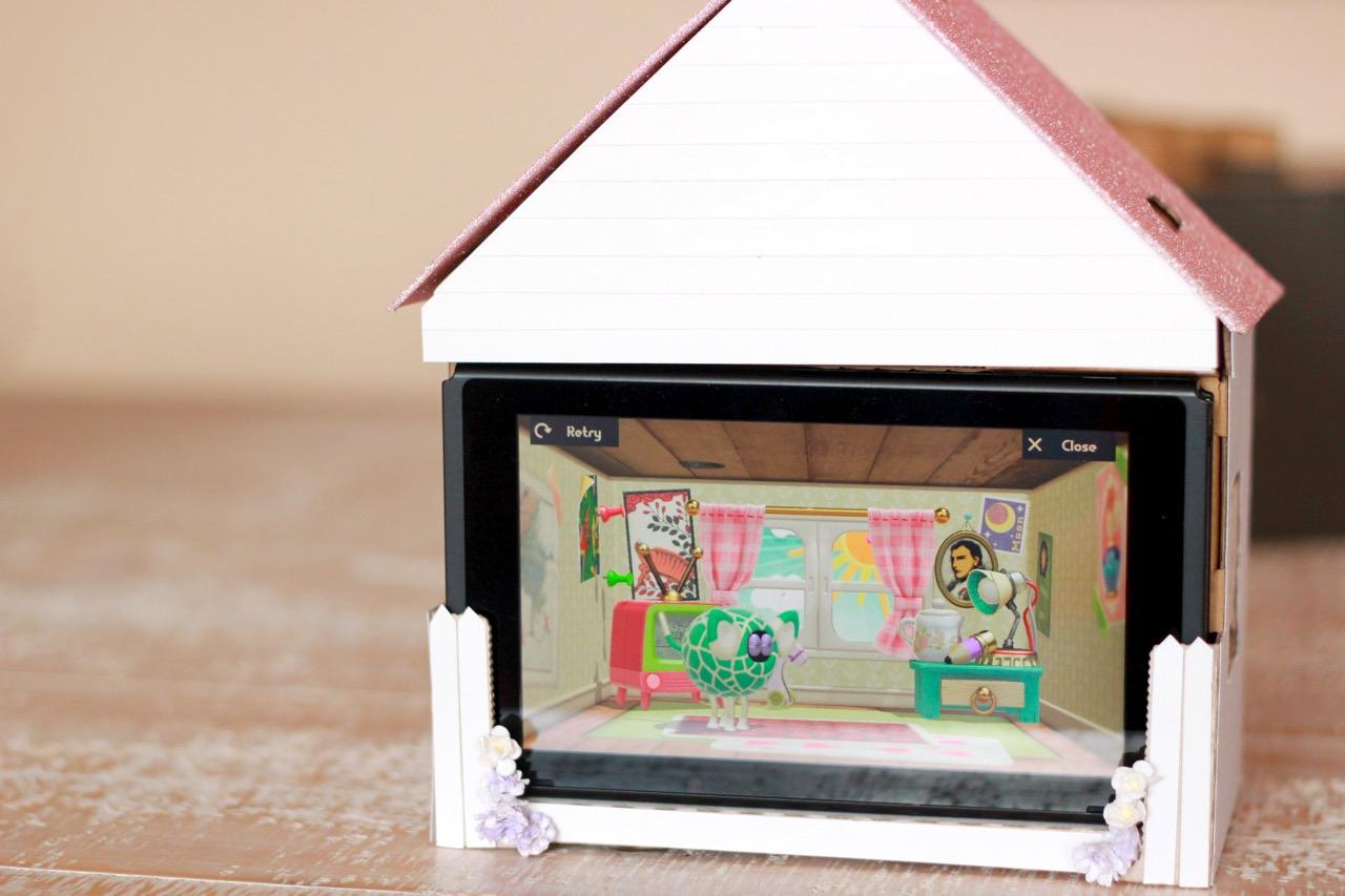 Nintendo Labo Toy-Con Variety Kit customised personalised house design