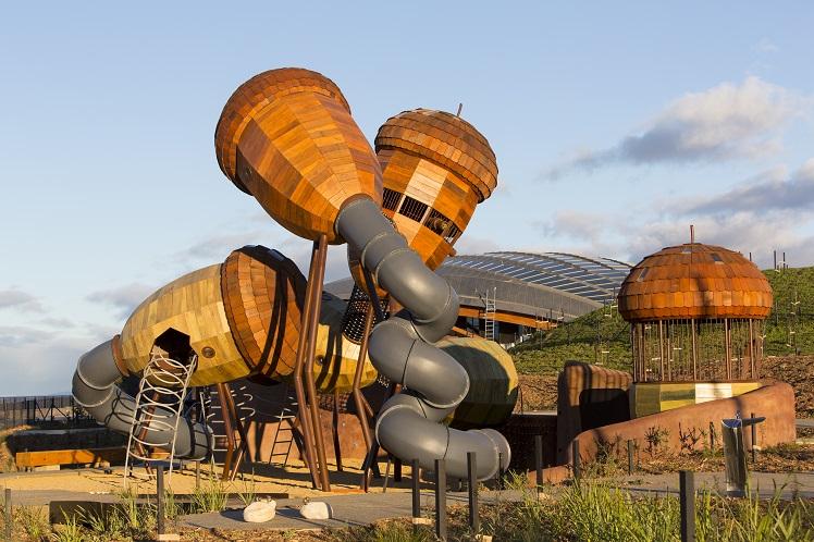 National Arboretum Pod playground Canberra
